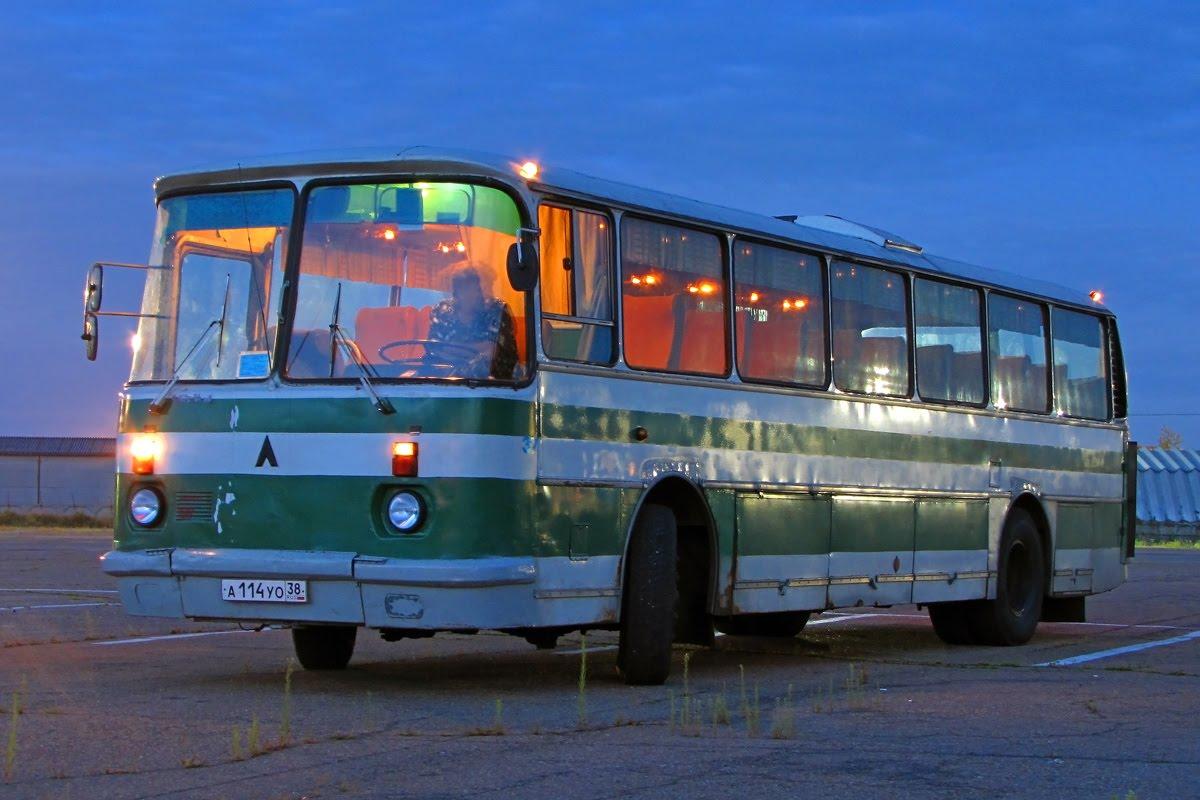Редкий туристический автобус ЛАЗ-699Р1